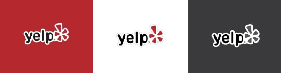 Yelp ロゴ